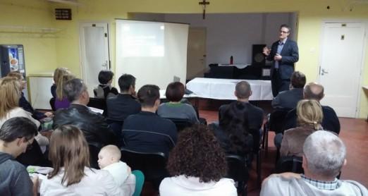 Predavanje o obitelji na zagrebačkoj Trešnjevci